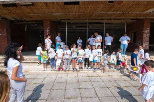 Škola srpskog jezika i izložba u Bos.Grahovu 2018